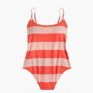 J.Crew Playa Newport super-scoopback swimsuit LGE